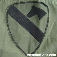 1st Cavalry Division Subdued Shoulder Sleeve Insignia.