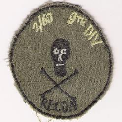 2nd Battalion 60th Infantry Recon patch
