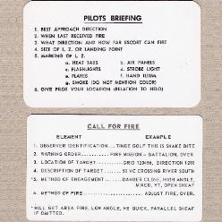Field Procedure Cards