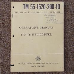 TM 55-1520-208-10 Operators Manual: HU-1B Helicopter