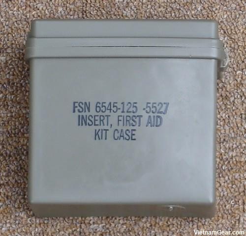 First Aid Kit Case Plastic Insert