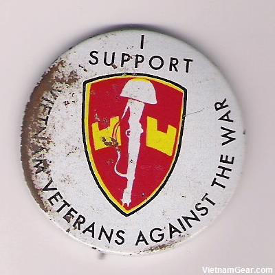I support Vietnam Veterans Against.. Badge