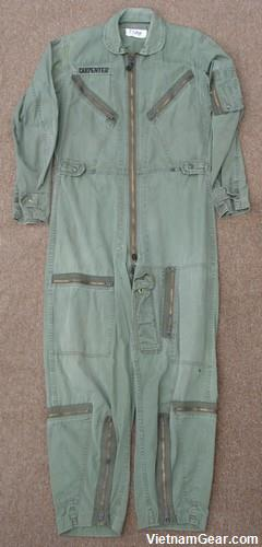 K-2B Olive Green Flying Coveralls