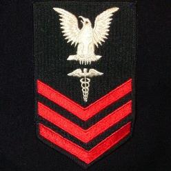 US Navy Petty Officer First Class