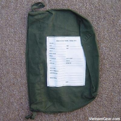 Deceased Personnel Effects Bag