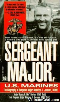 Sergeant Major, U.S. Marines by Major Bruce Norton and Sergeant Major Maurice Jacques.