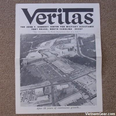 Veritas Special Forces Newsletter