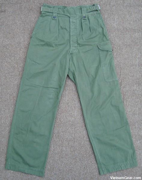 Australian Jungle Trousers 1st Pattern