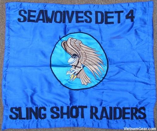 Seawolf Detachment 4 Flag