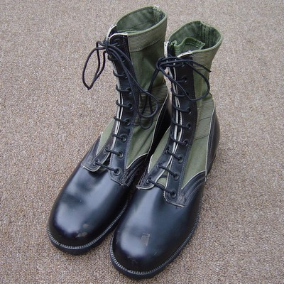 Panama Sole Tropical Combat Boots.