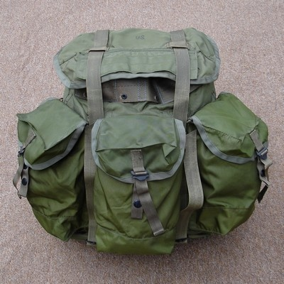 Nylon Olive Green 106 Tropical Rucksack.