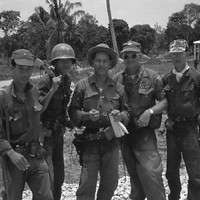 ARVN soldiers with US officers