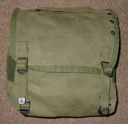 The EX 54-14 Combat Pack was made from OD7 cotton duck and weighed 0.